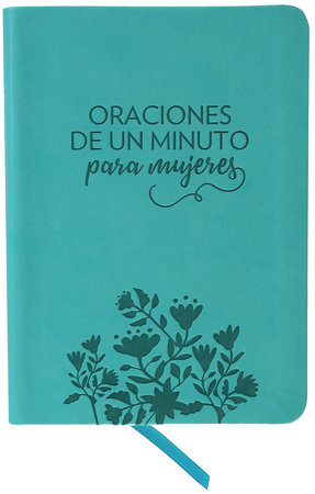 Oraciones de un minuto para mujeres. Símil piel / One Minute Prayers for Women. Leathersoft by Hope Lyda