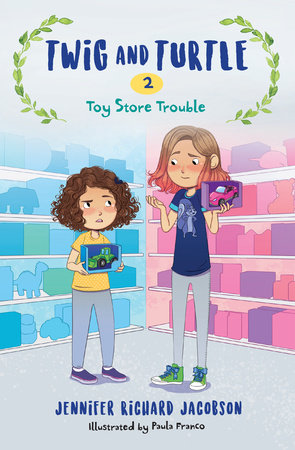 Twig and Turtle 2: Toy Store Trouble by Jennifer Richard Jacobson