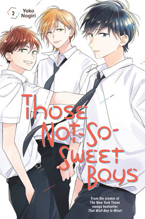 Those Not-So-Sweet Boys 2 by Yoko Nogiri