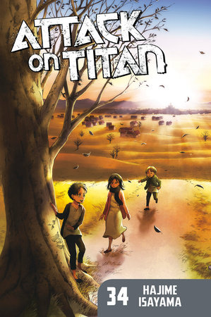 Attack on Titan 34 by Hajime Isayama