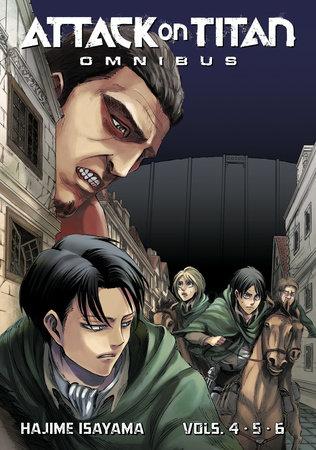 Attack on Titan Omnibus 2 (Vol. 4-6)