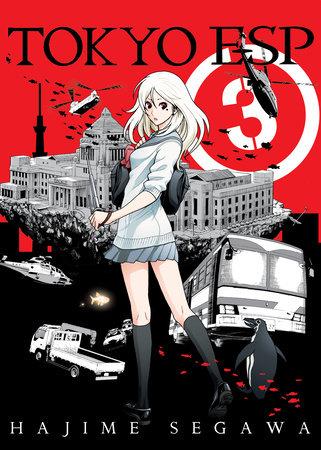 Tokyo ESP, volume 3 by Hajime Segawa