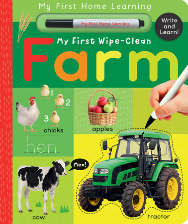 My First Wipe-Clean Farm
