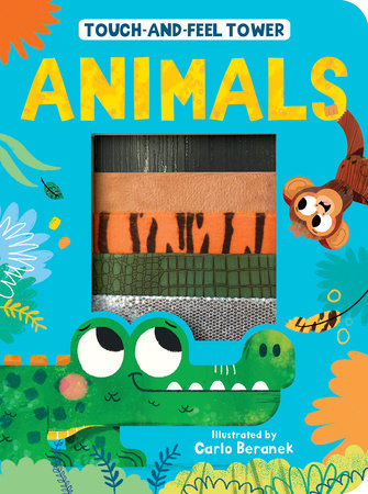 Touch-and-Feel Tower Animals by Patricia Hegarty