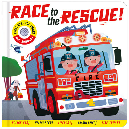 Race to the Rescue! by Georgiana Deutsch