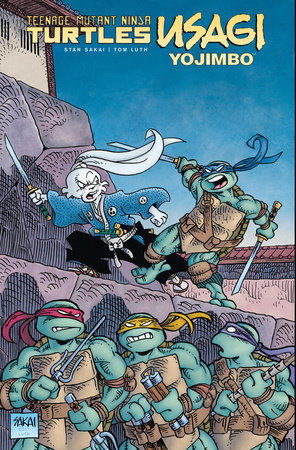 Teenage Mutant Ninja Turtles/Usagi Yojimbo by Stan Sakai