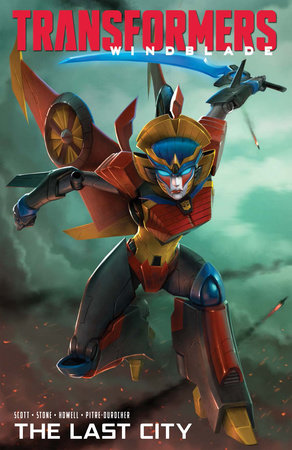 Transformers Windblade: The Last City by Mairghread Scott