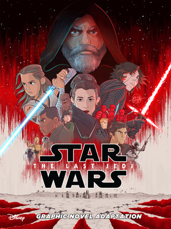 Star Wars: The Last Jedi Graphic Novel Adaptation by Alessandro Ferrari