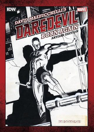 David Mazzucchelli's Daredevil Born Again Artisan Edition by David Mazzucchelli