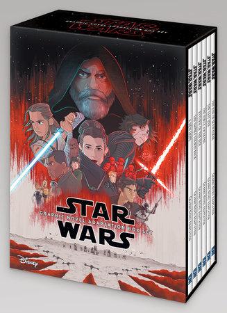 Star Wars Episodes IV–IX Graphic Novel Adaptation Box Set by Alessandro Ferrari