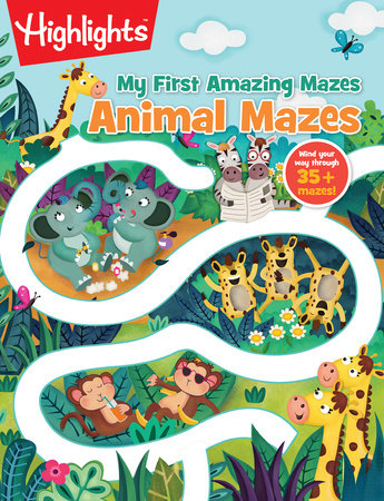 Animal Mazes by