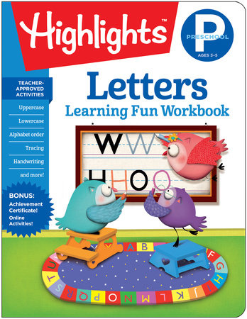 Preschool Letters by Highlights Learning