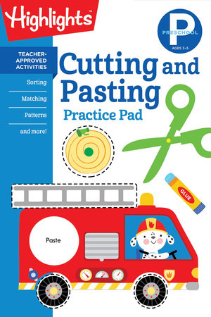 Preschool Cutting and Pasting by