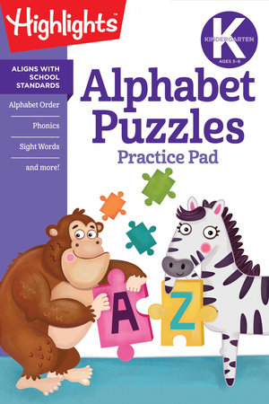 Kindergarten Alphabet Puzzles by Highlights Learning