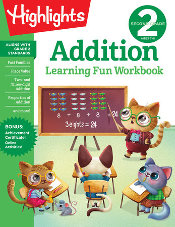 Second Grade Addition by Highlights Learning