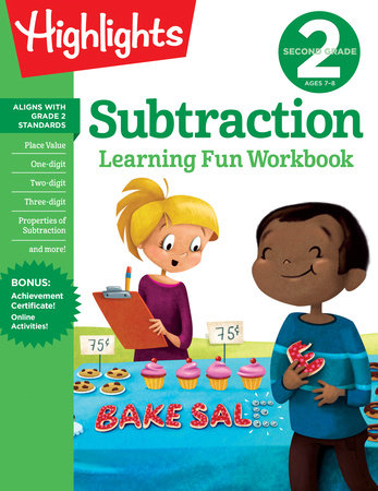 Second Grade Subtraction by Highlights Learning