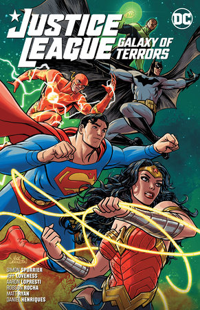 Justice League: Galaxy of Terrors by Simon Spurrier