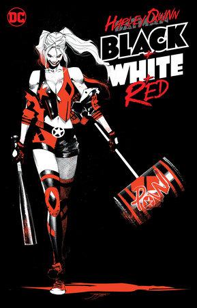 Harley Quinn Black + White + Red by Various