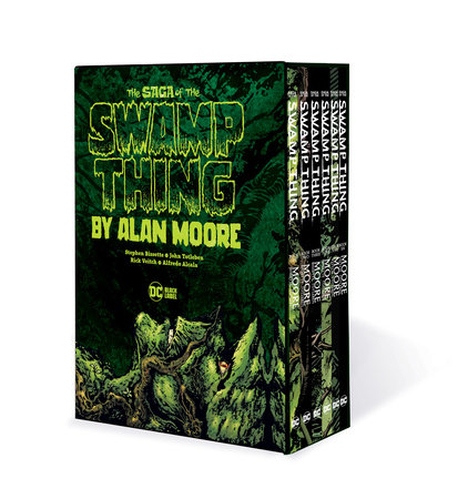 Saga of the Swamp Thing Box Set by Alan Moore