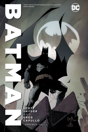 Batman by Scott Snyder & Greg Capullo Omnibus Vol. 2 by Scott Snyder