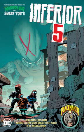Inferior Five by Keith Giffen and Jeff Lemire