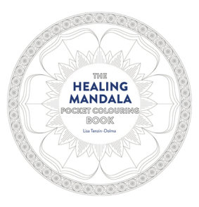 Healing Mandala Pocket Coloring Book