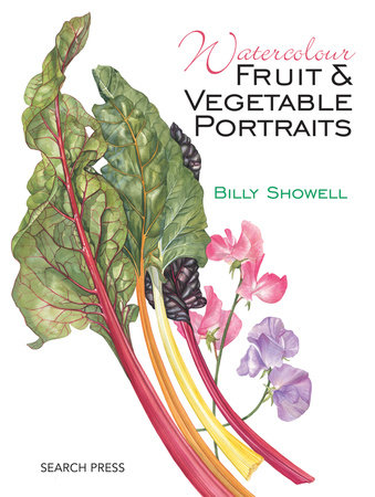 Watercolour Fruit & Vegetable Portraits by Billy Showell
