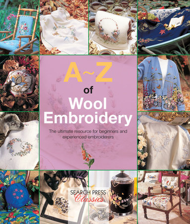 A-Z of Wool Embroidery by Compiled Country Bumpkin