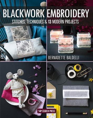 Blackwork Embroidery by Bernadette Baldelli