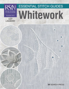 RSN Essential Stitch Guides: Whitework - large format edition