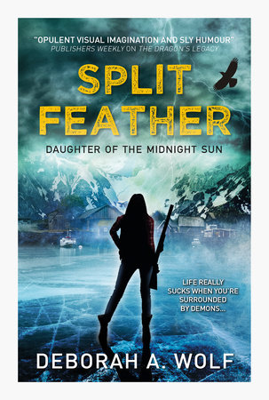 Split Feather by Deborah A. Wolf