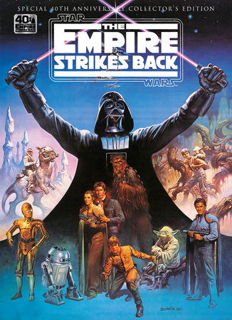 Star Wars: The Empire Strikes Back 40th Anniversary Special Book by Titan
