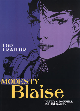 Modesty Blaise: Top Traitor by Peter O'Donnell