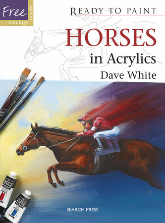 Horses in Acrylics by David White
