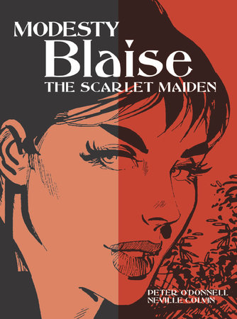 Modesty Blaise: The Scarlet Maiden by Peter O'Donnell
