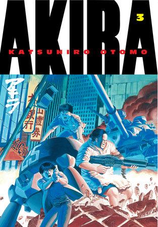 Akira Volume 3 by Katsuhiro Otomo