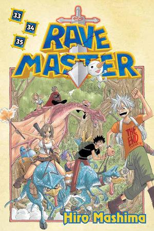 Rave Master 33/34/35 by Hiro Mashima