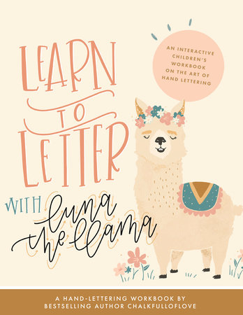 Learn to Letter with Luna the Llama by Chalkfulloflove