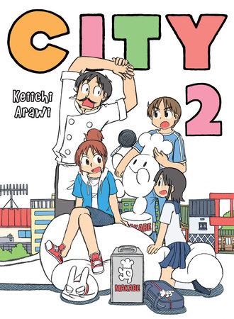 CITY, 2 by Keiichi Arawi
