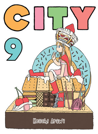 CITY, volume 9 by Keiichi Arawi
