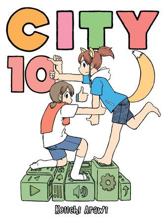 CITY, volume 10 by Keiichi Arawi
