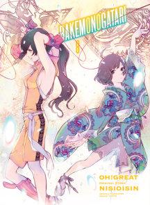 BAKEMONOGATARI (manga), volume 8