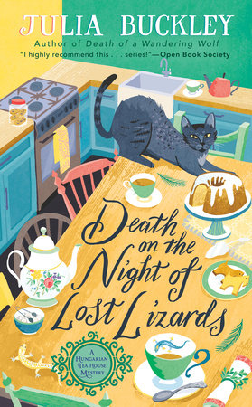 Death on the Night of Lost Lizards by Julia Buckley