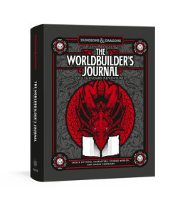 Dungeons and Dragons The Worldbuilder's Journal to Legendary Adventures