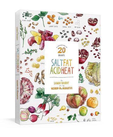Salt, Fat, Acid, Heat: A Collection of 20 Prints by Samin Nosrat