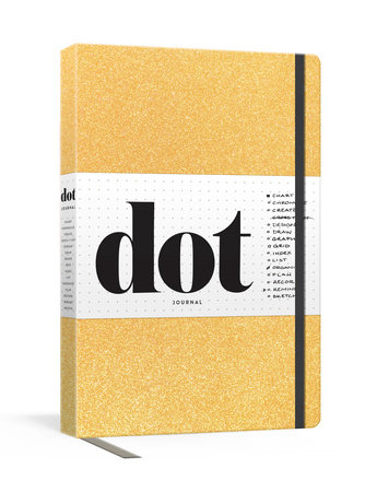 Dot Journal (Gold) by Potter Gift