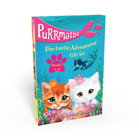 Purrmaids Fin-tastic Adventures 1-4 Gift Set by Sudipta Bardhan-Quallen