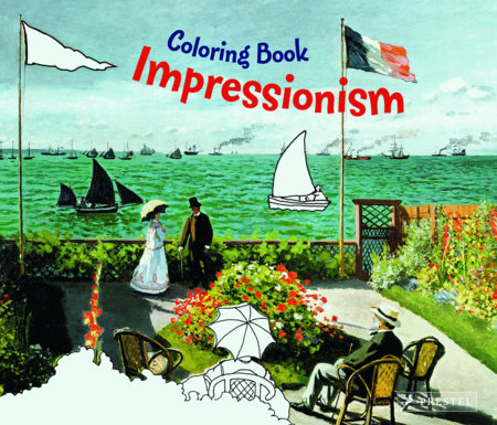 Coloring Book Impressionism by Doris Kutschbach