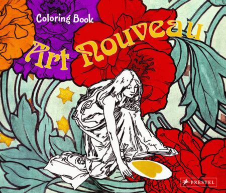 Coloring Book Art Nouveau by Annette Roeder