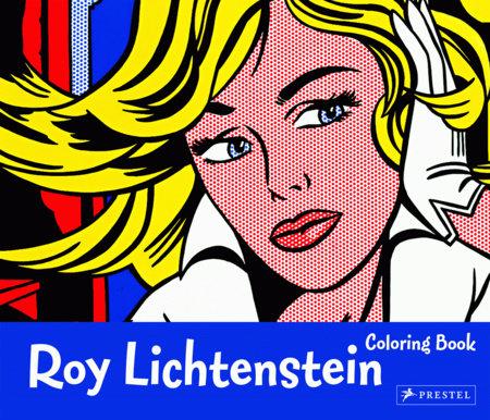 Roy Lichtenstein Coloring Book by Prestel Publishing